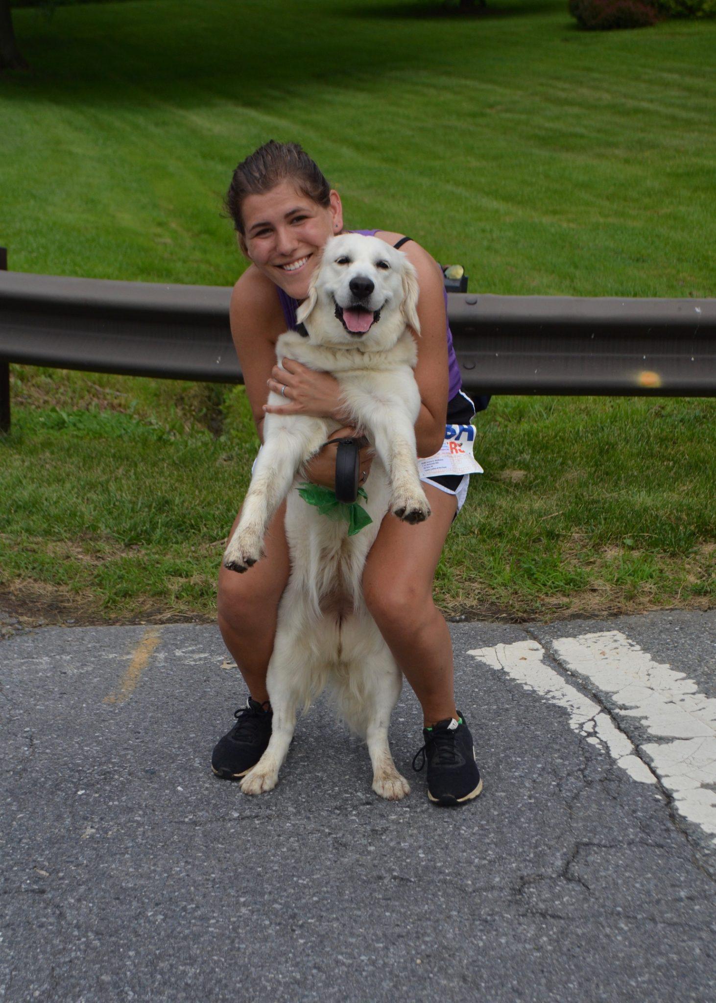 Jessica and Dog