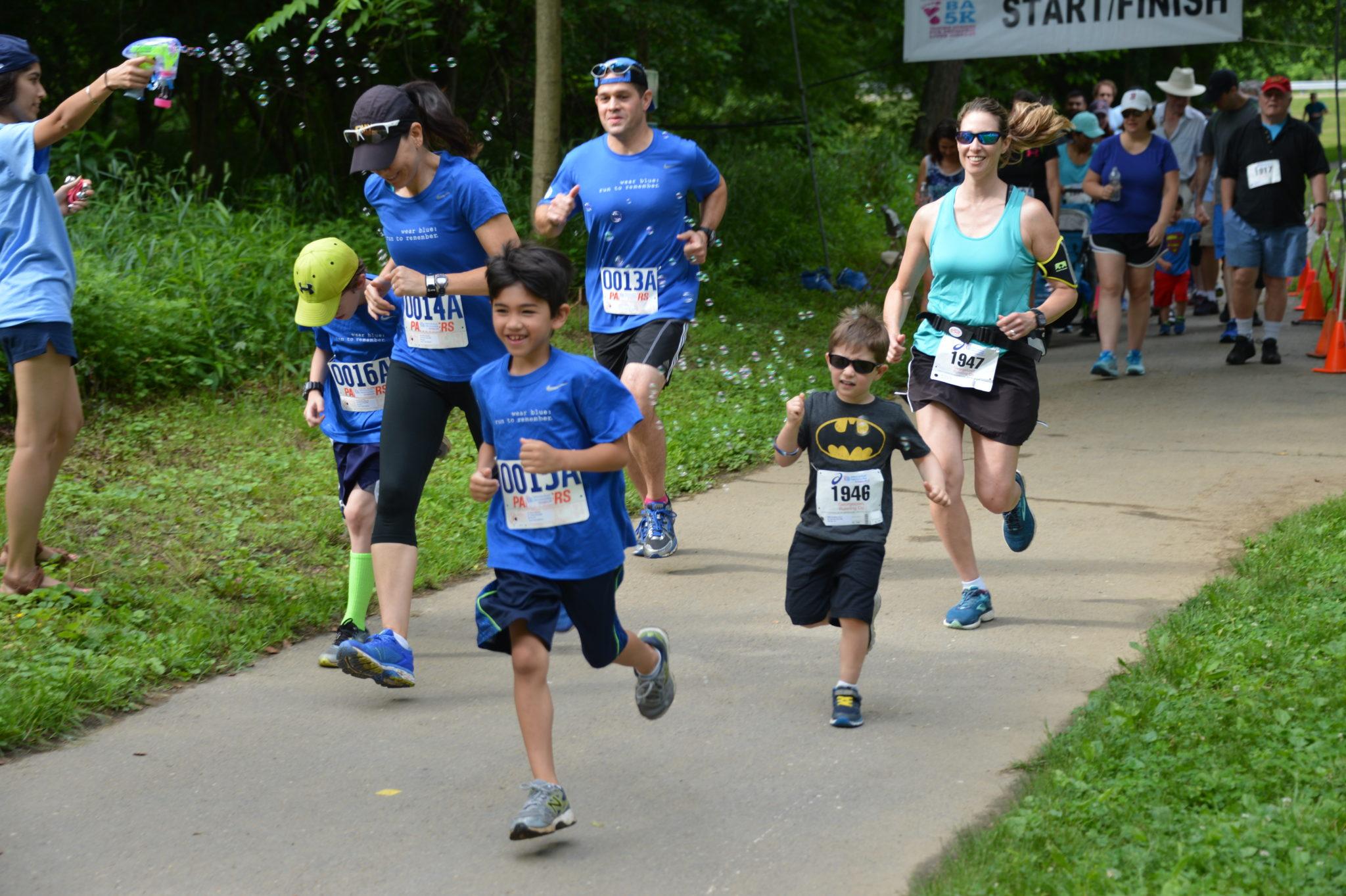 Kid runners