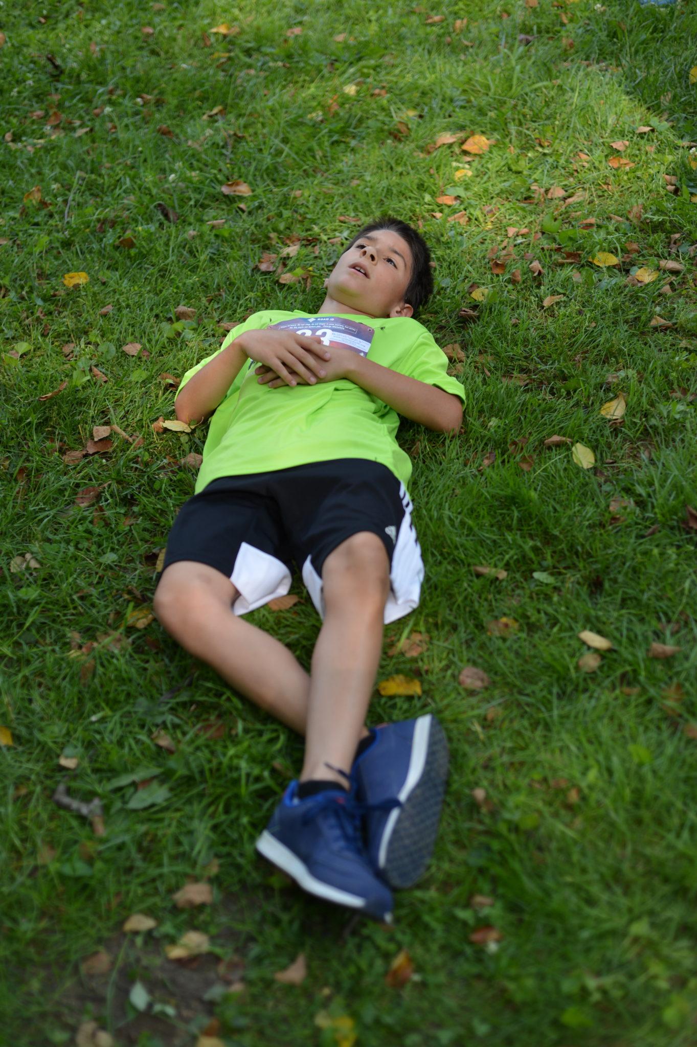 LMR Boy Resting